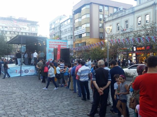 Dondurma Tanıtım Tırı Trabzon'da