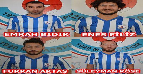 1920 Maraşspor 4 Oyuncu Transfer Etti