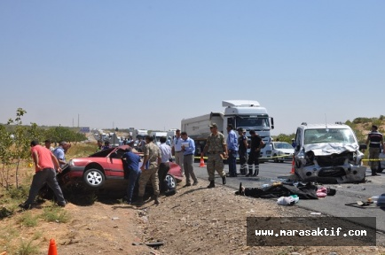 Trafik Kazası 5 Ölü 2 Yaralı