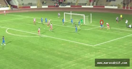 İşte Kahramanmaraşspor'un Verilmeyen Penaltısı!