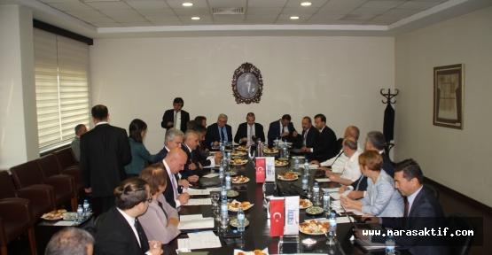 LPG Meclis Toplantısı Kahramanmaraş'ta Yapıldı