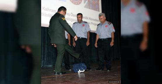 Özel Güvenliğe Bomba Eğitim Verildi