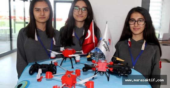 Atık Malzemeden Drone Yaptılar