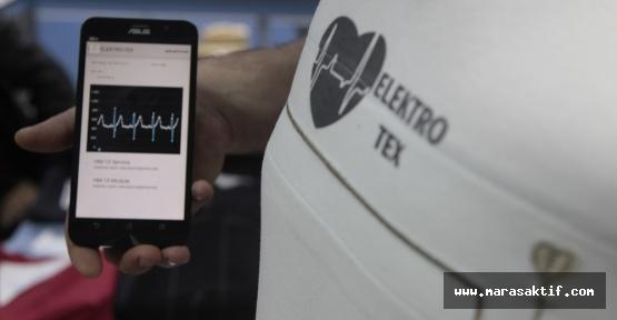 EKG Görüntüleyen Tişört Üretildi