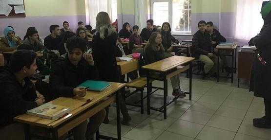 Öğrencilere Teknoloji Bağımlığı Anlatıldı