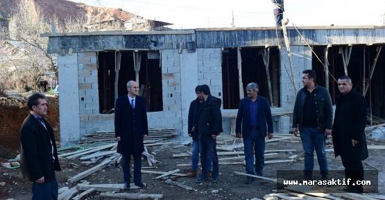 Beşenli'ye Sosyal Tesis Yapılıyor