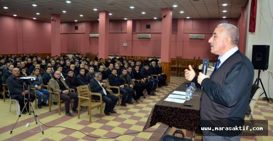 Elbistan'da Güvenlikçilere Eğitim Verildi