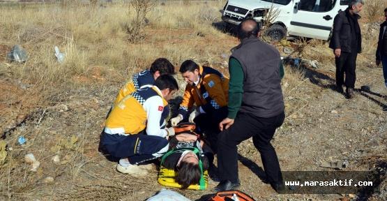 Kahramanmaraş'ta Araç Devrildi 1 Ölü
