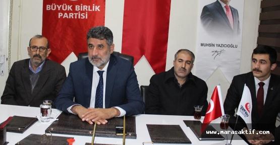 BBP'den AK Parti'ye, Koalisyona Hazırız