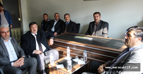 Çeleğen MHP'yi Ziyaret Etti