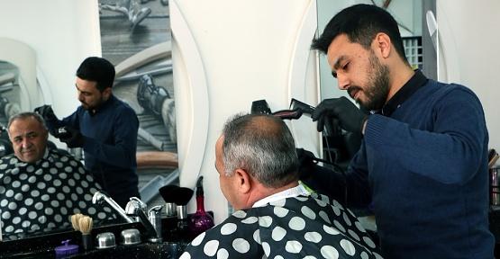 Kahramanmaraş'ta Ücretsiz Tıraş