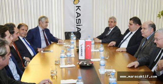 KMTSO Yönetimi, KASİAD'ı Ziyaret Etti