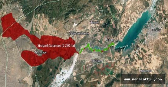 22 Bin Dekar Arazi Sulu Tarıma Kavuşuyor