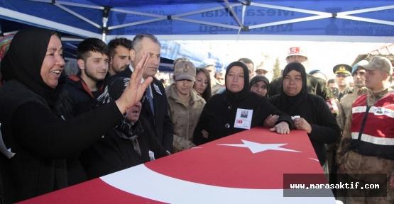 Kahramanmaraşlı Afrin Şehidi Defnedildi