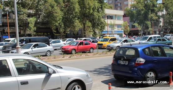 Kahramanmaraş'ta 224 Bin Araç Var
