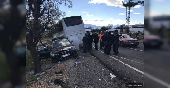 Kahramanmaraş'ta Kaza 20 Öğrenci Yaralı