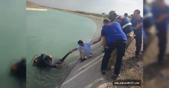 Kanala Düşen Kişi Boğuldu