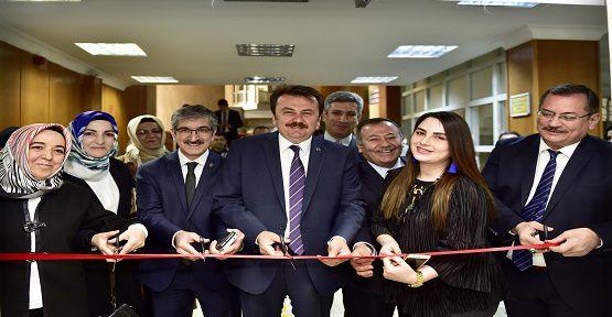 Akkase Kâtı ve Ebru Sergisi Açıldı