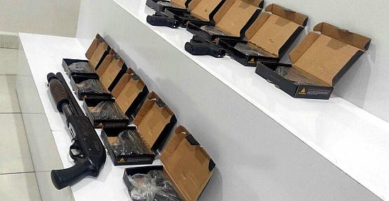 Kahramanmaraş'ta Kaçak Silah Ele Geçirildi