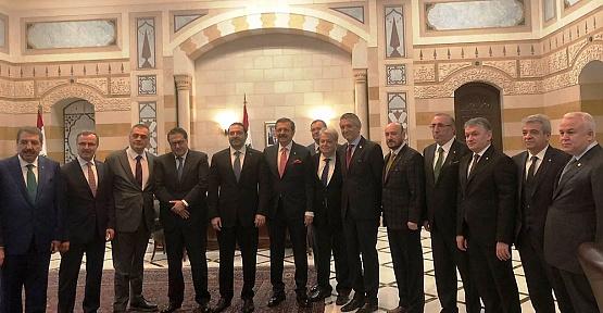 Zabun Toplantı İçin Lübnan'a Gitti