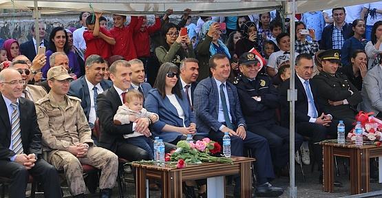 23 Nisan Pazarcık'ta Kutlandı