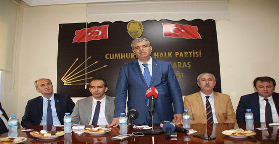 Başbakan Yardımcısından CHP'ye Teşekkür Ziyareti