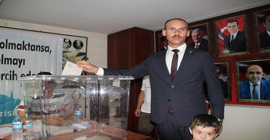BBP Onikişubat İlçe Başkanlığına Polat Seçildi