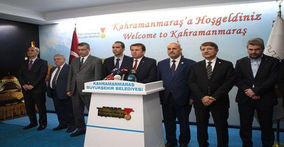 'Kahramanmaraş Halkı Türkiye'de Birinci Olacak'