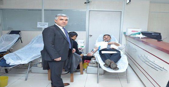 Kahramanmaraş SGK Kan Bağışladı