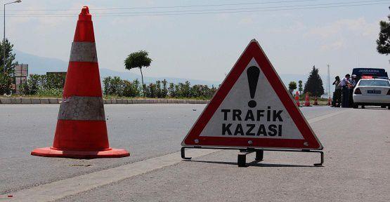 Kahramanmaraş'ta Trafik Kazası, 11 Yaralı