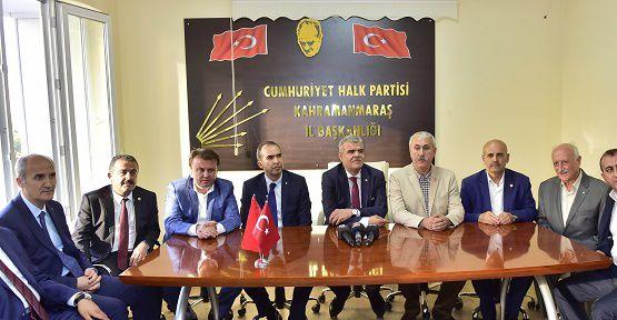 Kaynak'tan Partilere Bayram Ziyareti