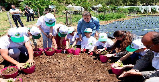 Lider Çocuk Tarım Kampı Tamamlandı