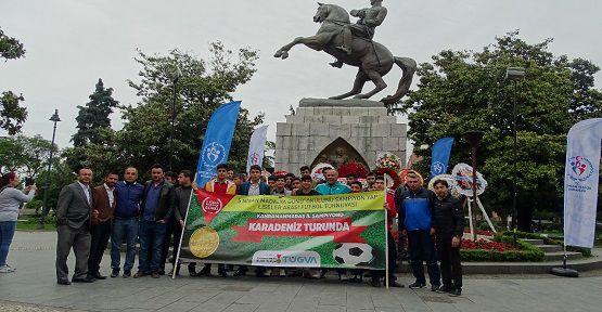 Şampiyon Lise Karadeniz'i Gezdi