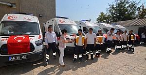 Ambulanslar Görev Yerlerine Gönderildi