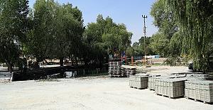 Balıklı Göl'de Çevre Düzenlemesi