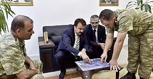 Erkoç Tugay Komutanlığını Ziyaret Etti