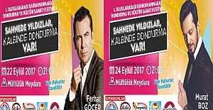 Kahramanmaraş'ın Devlerinden Muhteşem İki Konser