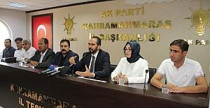 Kahramanmaraş'ta 5 İlçe Başkanı Değişti