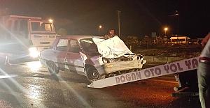 Kazada 5 Kişi Yaralandı
