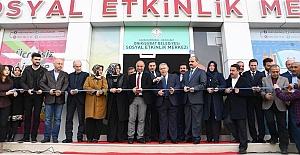Sosyal Etkinlik Merkezi Açıldı