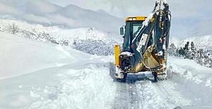 Onikişubat Belediyesi Kar Mesaisinde
