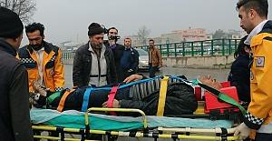 Kahramanmaraş'ta Kaza 1 Yaralı
