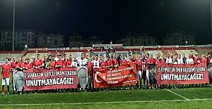 Şehitlerin Anısına Futbol Maçı Düzenlendi