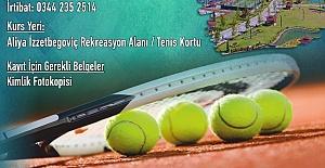 Tenis Kursu Kayıtları Başlıyor