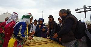Kültür Festivalinde Kahramanmaraş Çadırı