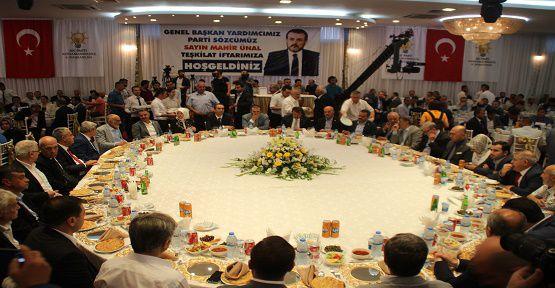 Ünal AK Parti İftarına Katıldı