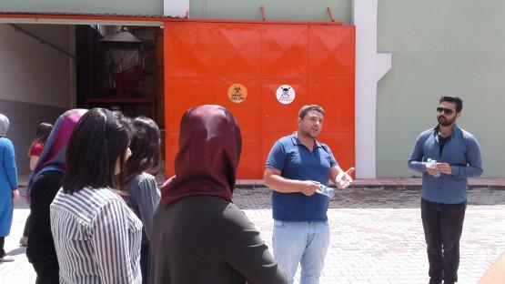 Öğrenciler Katı Atık Bertaraf Tesisi Ziyaret Etti