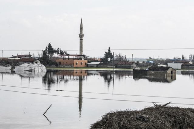 Aşırı Yağıştan Arta Kalan Manzara