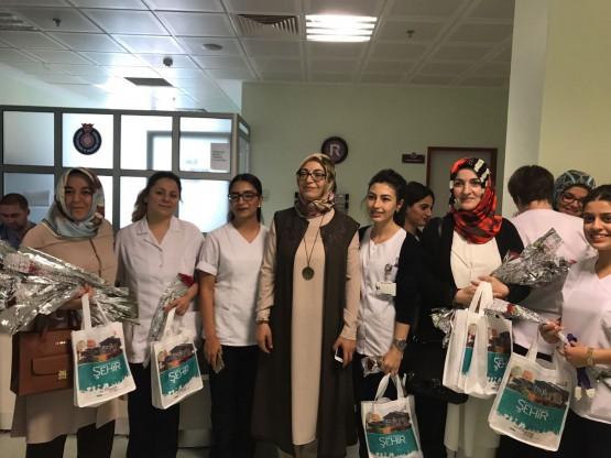 Hemşireler Haftası Kutlama