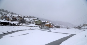 Sivas'ta Kar Manzaraları